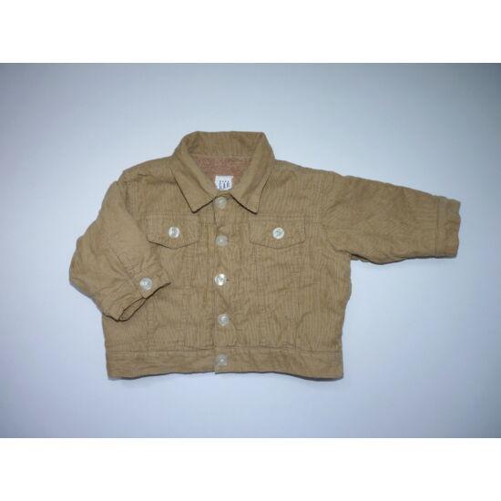 62/68-as Baby Gap bélelt átmeneti kabát, dzseki