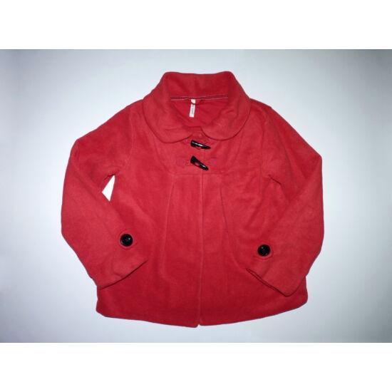 152-es Next puha piros polár kabát