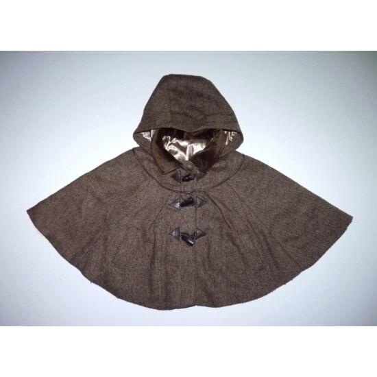 110-es kapucnis kislány poncsó, pelerin