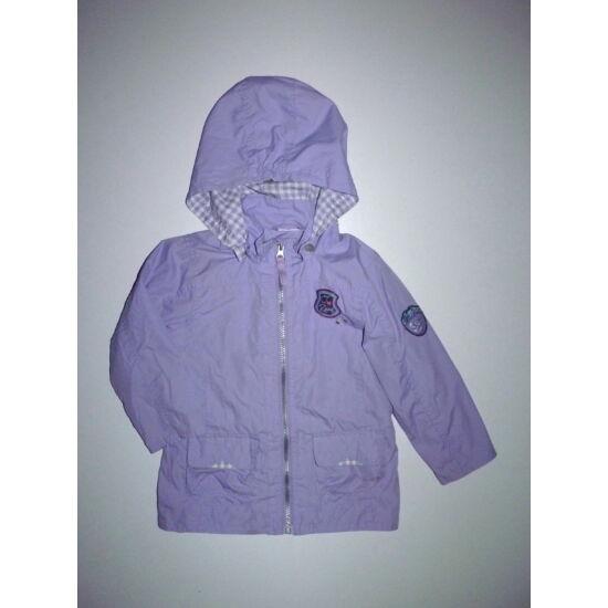 116-os Rock Girls lila átmeneti kabát, széldzseki