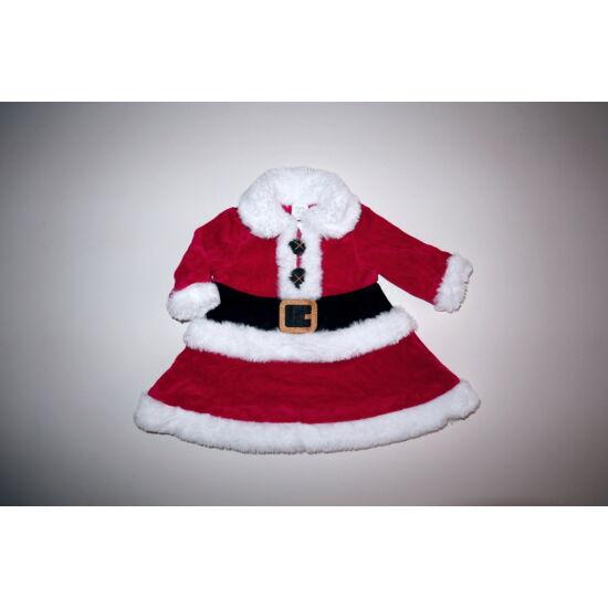 56/62-es piros Télanyó karácsonyi ruha, jelmez