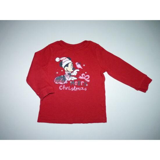 74/80-as Disney Minnie tündéri karácsonyi felső