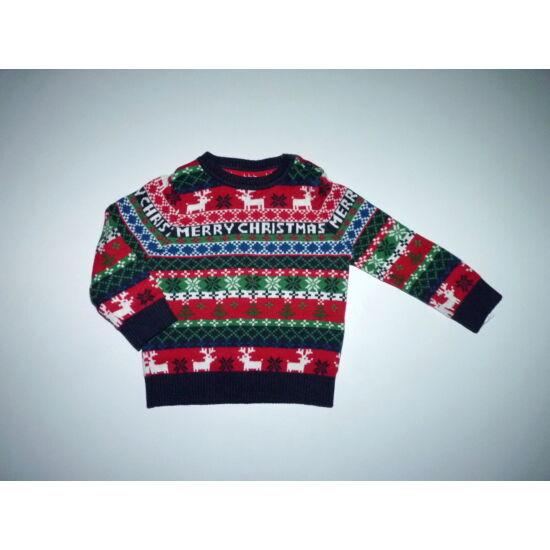 68-as tündéri karácsonyi mintás kötött pulóver - Kardigánok ... f4dd28094e