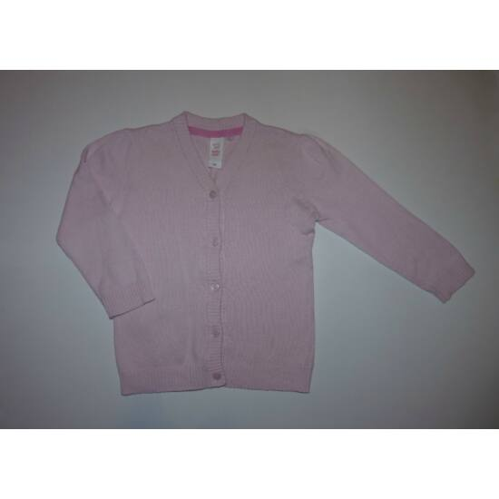 92-es C&A csinos rózsaszín kislány kardigán