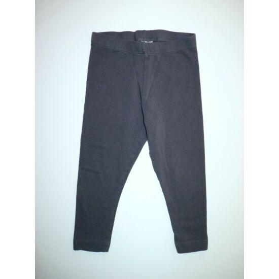 86/92-es C&A egyszínű pamut leggings