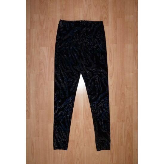 158/164-es alkalmi csillogós leggings