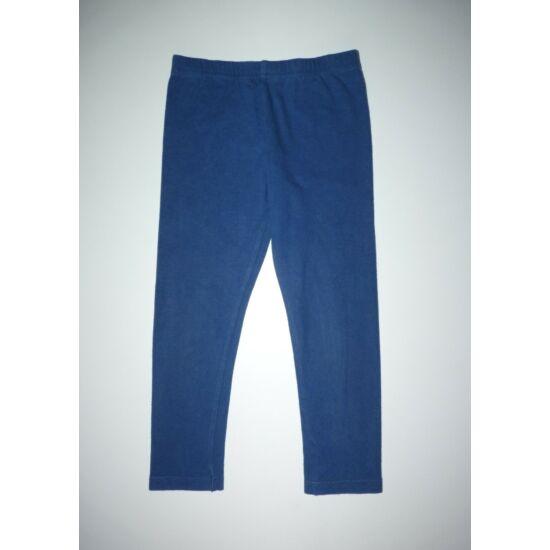 92/98-as M&S kék pamut leggings