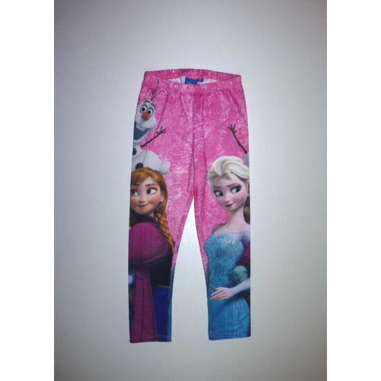 110/116-os Disney Frozen Elza leggings
