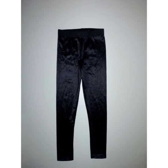 122-es TU fényes fekete alkalmi leggings