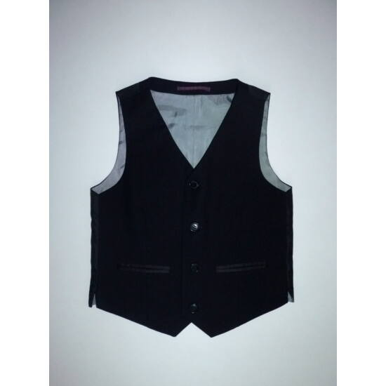 128-as Marks Spencer fekete alkalmi öltönymellény - Kardigánok ... 60a8170234