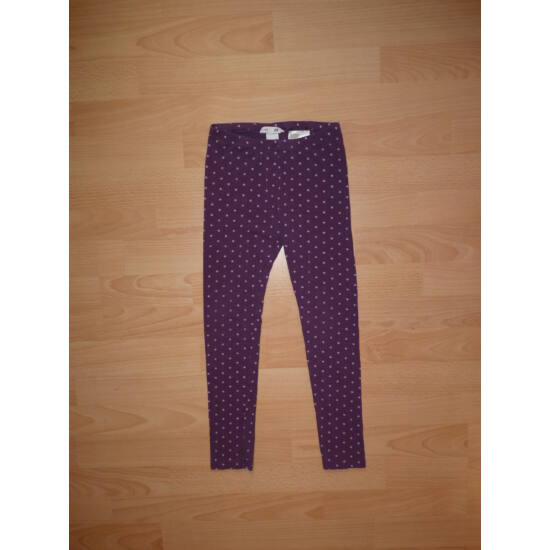 128-as H&M lila pamut leggings