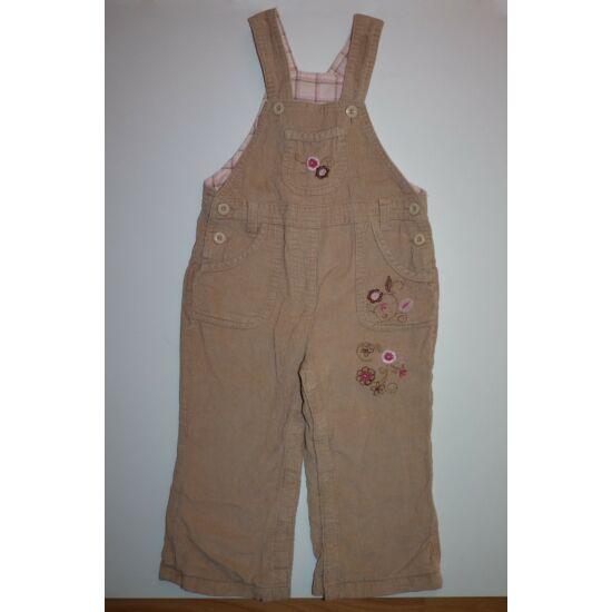 92-es Impidimpi bélelt kantáros kislány nadrág