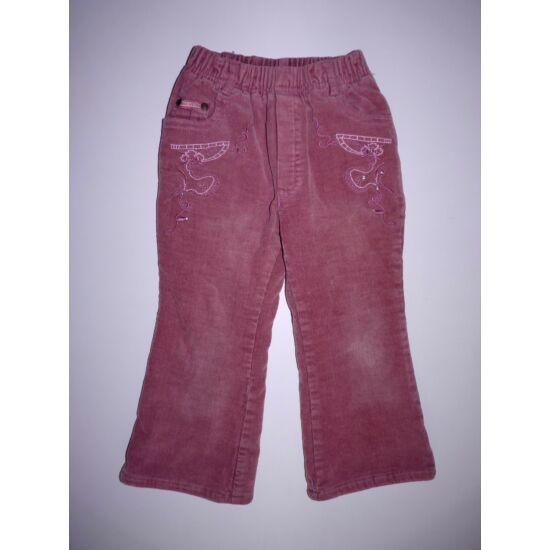 104-es csinos bélelt kislány nadrág