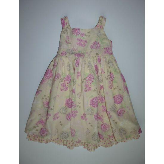 92/98-as TU csinos alkalmi kislány nyári ruha