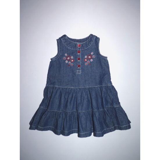 80-as tündéri fodros ujjatlan kislány ruha