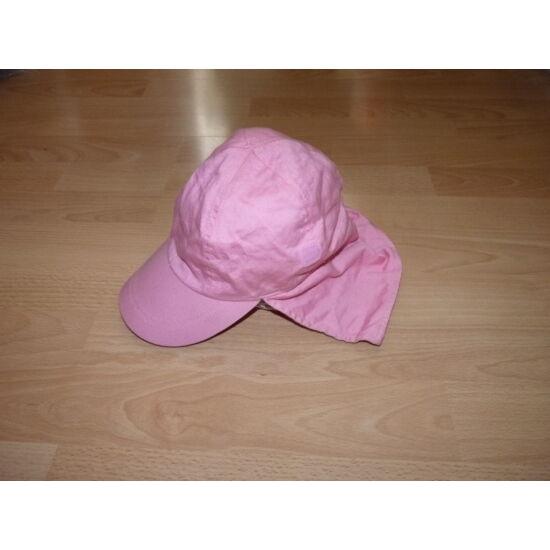 M&S nyári napvédő rózsaszín sapka 2-3 éves kislánynak