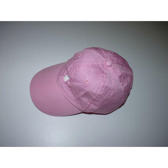 Nyuszis rózsaszín baseball sapka ~4-6 év