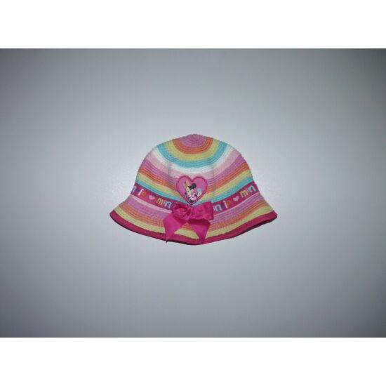 Disney Minnie vidám színes nyári kalap 0-6 hó