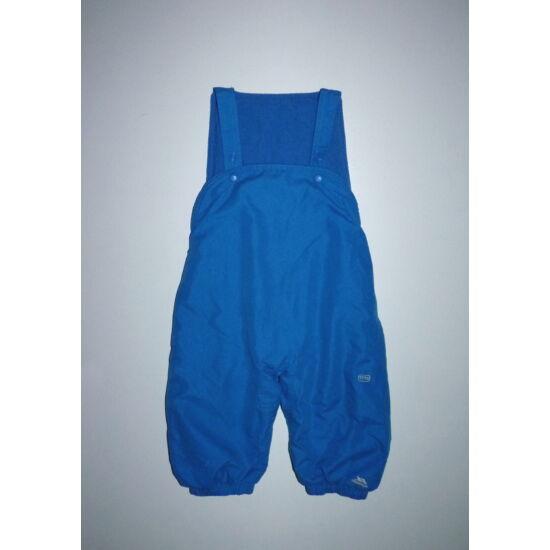 80/86-os Trespass kék kantáros overál nadrág