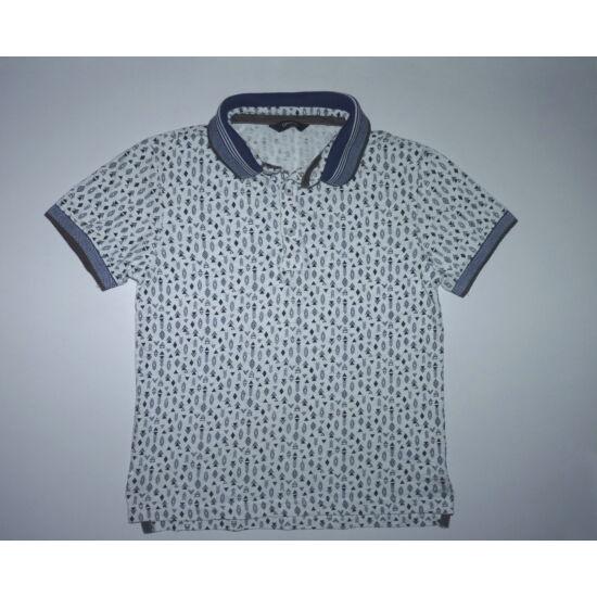 ccd362d089 122/128-as vagány pamut rövid ujjú pólóing - Pólók, felsők, ingek ...