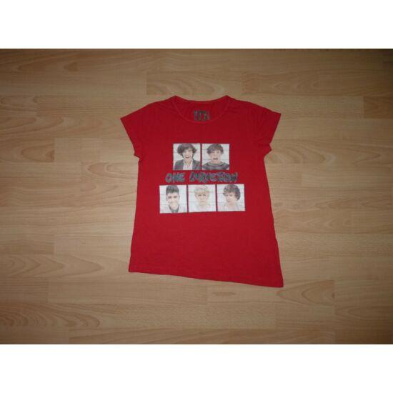 128-as One Direction szuper pamut póló