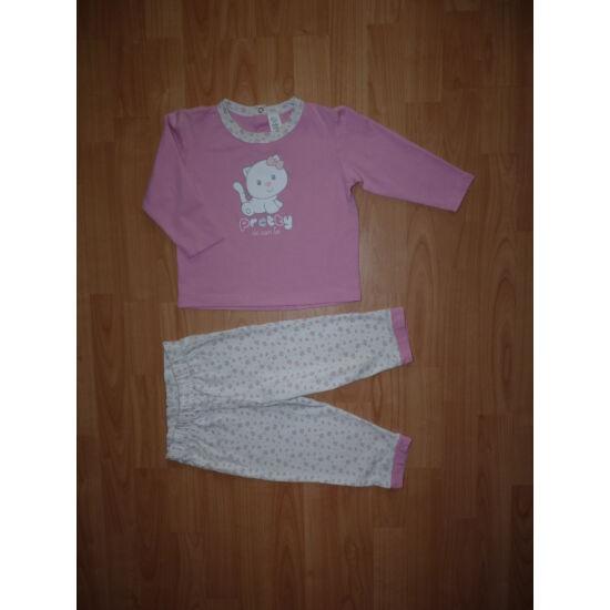 92-es C&A csajos pamut pizsama