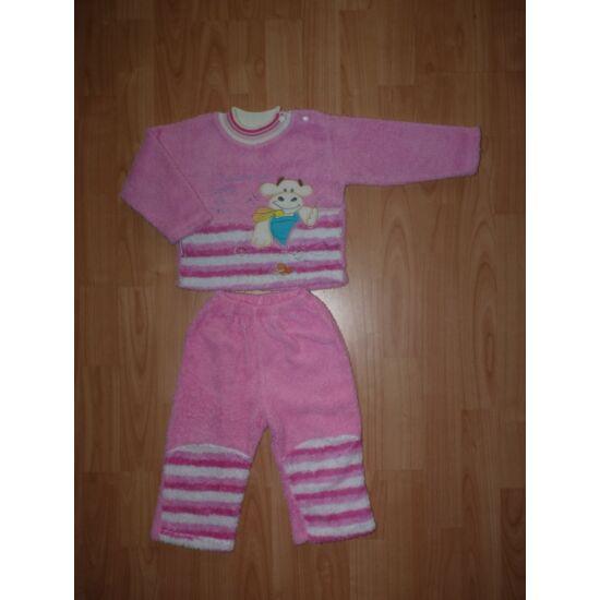 80-as pihe-puha tündéri kislány pizsama, szabadidő