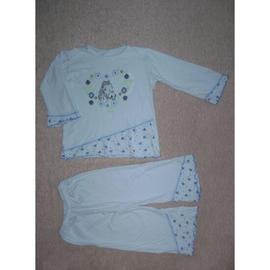 ~98/104-es lovacskás kislány pizsama