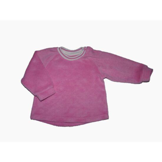 74-es puha rózsaszín melegítőfelső
