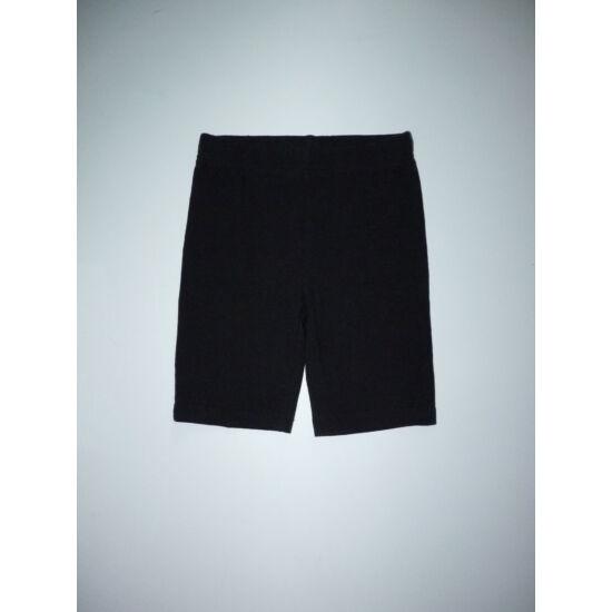 122-es TU fekete rövid leggings