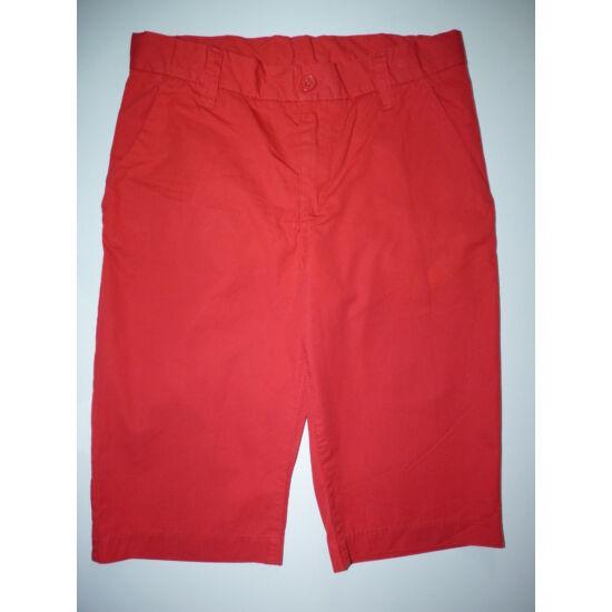152-es H&M piros lány sort, bermuda