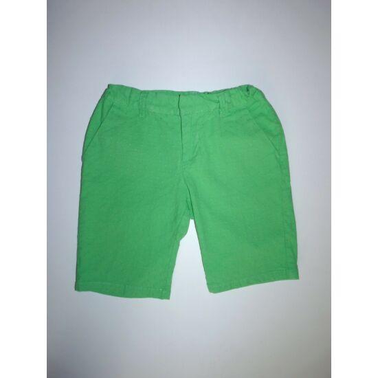 128/134-es Gap csinos zöld rövidnadrág