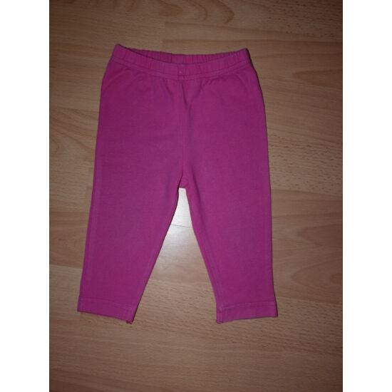 68/74-es pamut leggings