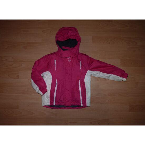 110/116-os csajos, meleg téli kabát levehető kapucnival