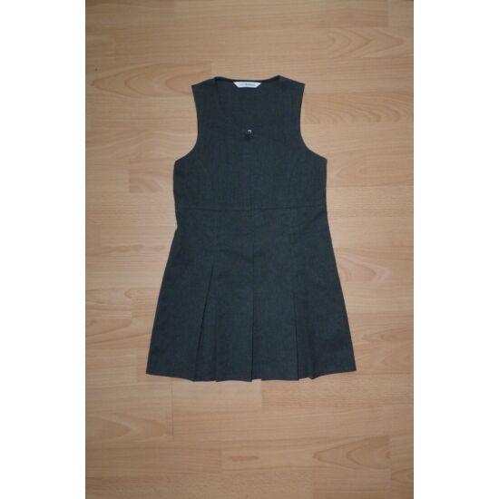 104/110-es csinos, szürke alkalmi ruha szuper fazonnal