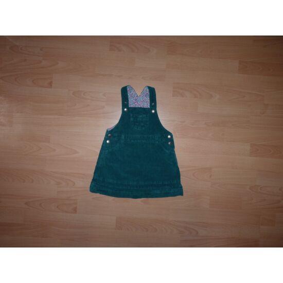 98/104-es állítható kantáros mikrokord ruha