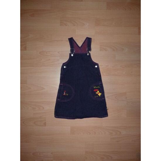 104/110-es Disney lila farmerruha állítható kantárral