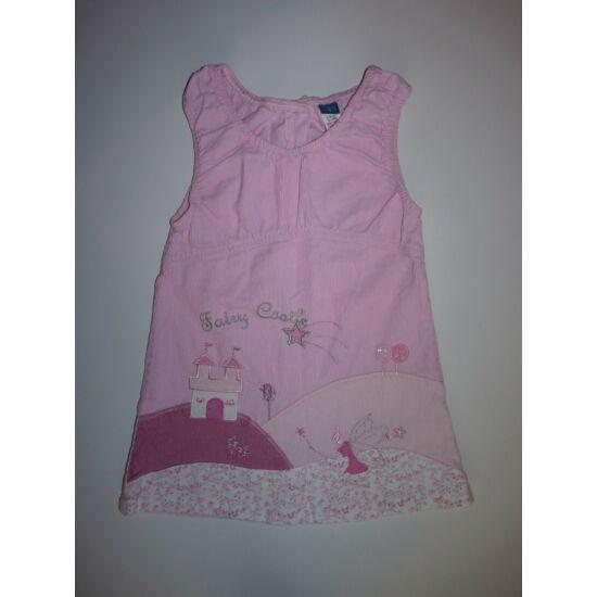 92/98-as TU csodaszép, különleges kastélyos kislány ruha