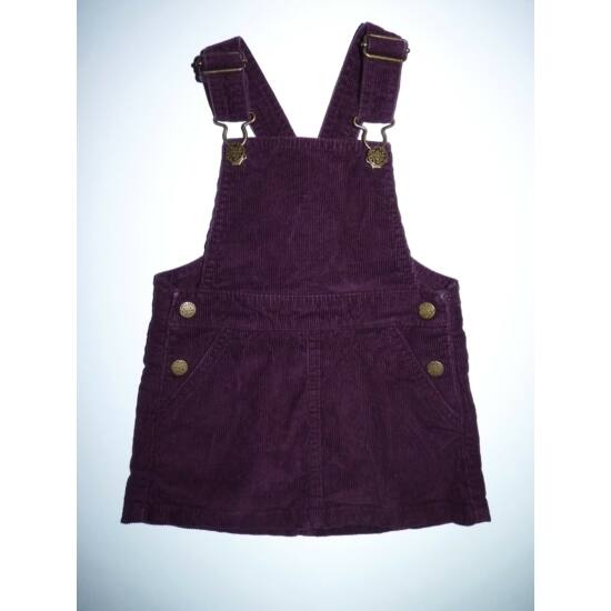 86-os csinos lila mikrokord kantáros ruha