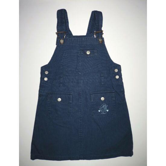 116-os C&A Törpillás kék kantáros ruha