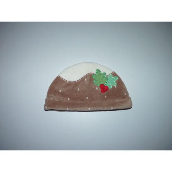 "74-es karácsonyi plüss ""Pudding"" sapka"