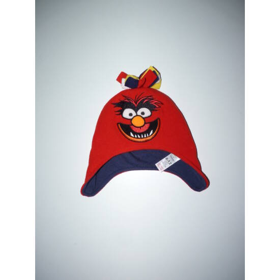 Disney Muppet show pamut bélelt polár sapka 6-12 hó