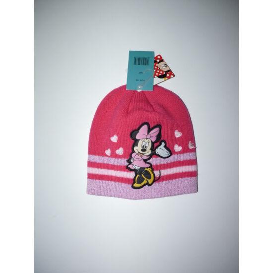 52-es Disney Minnie csillogós kötött sapka