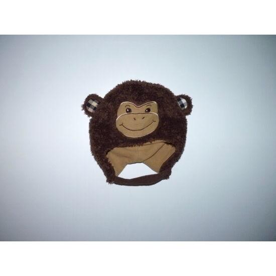 Pihe-puha majmocskás bélelt füles sapka - 12-18 hó