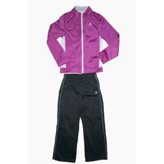104/110-es Domyos lány melegítő együttes, szabadidő ruha
