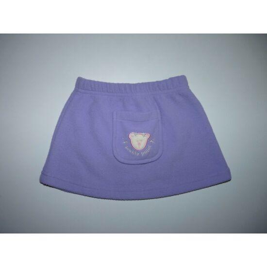 80-as puha lila macis polár szoknya