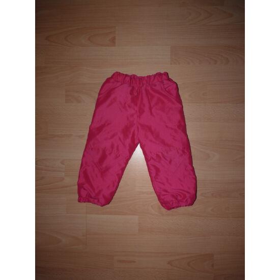 80-as bélelt, csinos, ciklámen színű nadrág