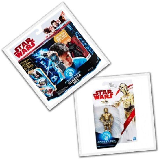 Star Wars Force Link kezdő készlet - Episode 8 - Kylo Ren + C-3PO figura