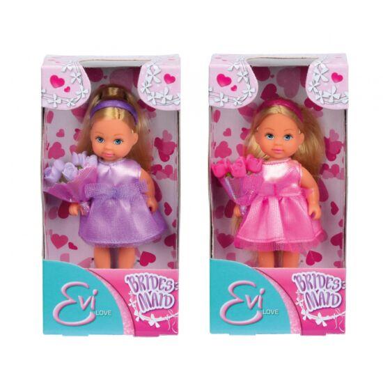 d999cdbd3113 Evi Love - Évi baba lila koszorúslány ruhában - Lány játékok ...
