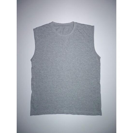 152/158-as szürke ujjatlan póló